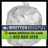 S334016N Inteplast Trash Bags 33 gallon 16 micron Natural S334016N
