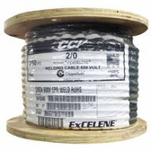 2/0AWG 25' CUT COILED TIED