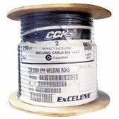 2AWG 25' CUT COILED TIED