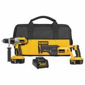 18V XRP HAMMERDRILL/RECIP SAW COMBO KIT
