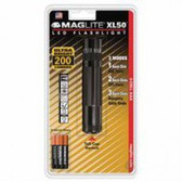 XL 50 3-CELL AAA LED BLISTER PACK BLACK