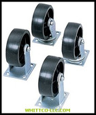 "4EA/SET 6"" CASTER SETFOR JOBOX & JOBSITE
