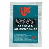 D'GEL CABLE CLEANER WIPES 144 PER CASE