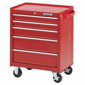 "26"" 5-DRAWER CABINET - RED"