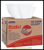 WYPALL X80 WIPERS WHITE160/SHEETS|41044|412-41044|WHITCO Industiral Supplies