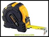 "1""X 30' STEEL TAPE MEASURE MAG GRIP RUB JACKET 7430 416-7430 WHITCO Industiral Supplies"