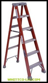 12' ADVENT FIBERGLASS STEP LADDER 300LB.|FS1512|443-FS1512|WHITCO Industiral Supplies