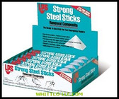 4 OZ. STRONG STEEL STICKS RENEWAL 3 BOX PER CS|60159|428-60159|WHITCO Industiral Supplies