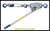 1-1/2TON CABLE WINCH-HOIST W/LATCH HOOK-MEDIUM|330SH|447-3000-30SH|WHITCO Industiral Supplies