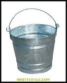 12QT GALVANIZED WATER PAIL|12QT|455-12QT|WHITCO Industiral Supplies