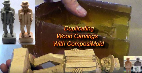 Duplicating Your Wood Carvings with ComposiMold and ComposiStone