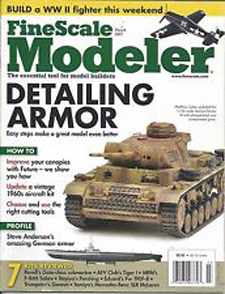 Fine Scale Modeler Cover