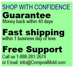 Shop ComposiMold Molding Materials with Confidence