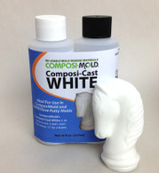 ComposiCast Casting Resin, White Epoxy Resin to make beautiful plastic parts and castings.
