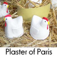 Plaster of Paris Casting