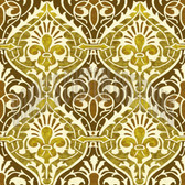 golden arabesque artistic tile, decorative tile designs by connies custom creations