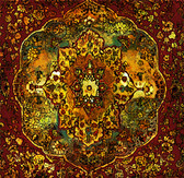 Grand Bazaar Tapestry Art Tile