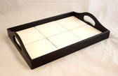 Large Black Serving Tray, Tile Accessories, Art Tile Frame, Home Decor