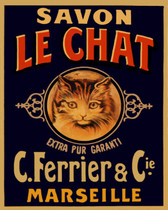 Le Chat Art Tile