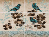 Polish Birds Ceramic Tile Mural