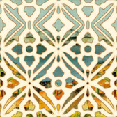 Trellis Wall Artistic Backsplash Tile
