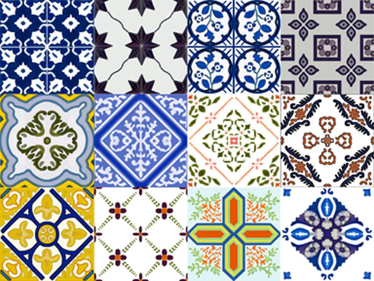 art tile designs. Spanish Artistic Tile Set, Decorative Designs By Connie\u0027s Custom Creations Art M