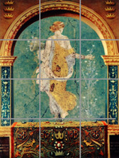 Antique Greek Mural