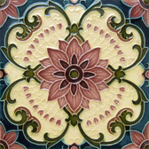 Charming Deco Artistic Back Splash Tile
