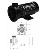 "WATERWAY | 1 1/2"" CENTER INLET& DISCHARGE EXACT REPLACEMENT FOR OLDER CENTER DISCHARGE PUMPS 