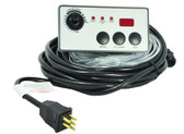 BAPTISTRY SYSTEM | REMOTE CONTROL PANEL  3 BUTTON, 25' CORED WITH TEMP DISPLAY | 34-0038D25-D