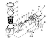 PENTAIR | MOTOR 10HP,3-PHASE W/5071-63 | 075852