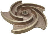 PENTAIR | IMPELLER, BRONZE 1 HP | C5-183D