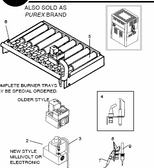 PENTAIR | Burner Tray Assy. Propane - Model 150 | 075502