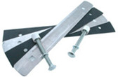 "S. R. SMITH | 18"" STRAP MOUNTING KIT, 2 BOLT FOR 8, 10, 12' BOARDS, 5"" BOLTS PLATE LENGTH IS ACTUALLY 16 1/2"" 