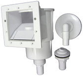 HAYWARD   COMPLETE SKIMMER WITH INLET AND VAC PLATE   SP1091LX