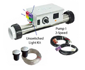 HYDROQUIP | AIR BUTTON CONTROL SYSTEM | CS800-A2