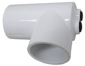 "90° ELBOW, 1 1/2"" SLIP X 1 1/2"" SLIP WITH 2 THERMOWELLS, 5/16"" ID X 4"" LONG 