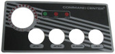 TECMARK | LABEL FOR 4 BUTTON | 30202BM