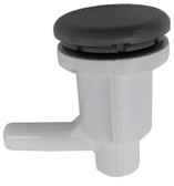 "WATERWAY | 3/8"" BARB, ELL AIR, INJECTOR, GRAY 