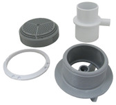 BALBOA | COMPLETE SUCTION FITTING, LT GRAY | 90145-LG