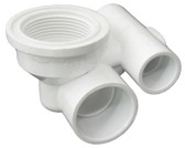 "G&G INDUSTRIES/BALBOA WATER GROUP | CLOSE FIT BODY, 1"" SL WATER x 1/2"" SL AIR 