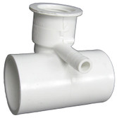 "WATERWAY | 1"" SLIP WATER x 3/8"" BARB AIR,TEE BODY 