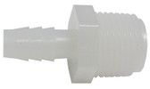 "PERMA-CAST | ADAPTER, HOSE 1/2"" MPT x 3/8"" BARB 