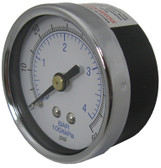 "JACUZZI | PRESSURE GAUGE, 1/4"" MPT, BOTTOM MOUNT 