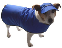 Waterproofed nylon dog coat