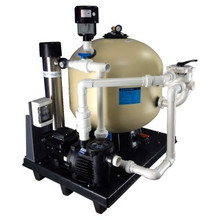 Aquadyne Plug & Play Mounted Filtration System Includes, (use up to 8000 Gallons.) PNPAD8000HE