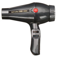 TWIN TURBO POWER 3200 PROFESSIONAL HAIR DRYER GRAY MADE IN ITALY-w