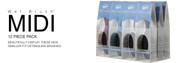 Midi Size  Wet Brush 12 Piece Pack Cool Collection-w