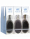Pro Wet Brush Custom Care Display - 9pc Display  Designed specifically for wet hair, the Custom Care Wet Brush will detangle your knots with a customized ease – 9 pc. Display   3- Custom Care Wet Brushes for Thin Hair 3- Original Wet Brushes in a charcoal-to-grey Ombre Finish 3- Custom Care Wet Brushes for Thick Hair 1- plastic display box that holds 9 brushes