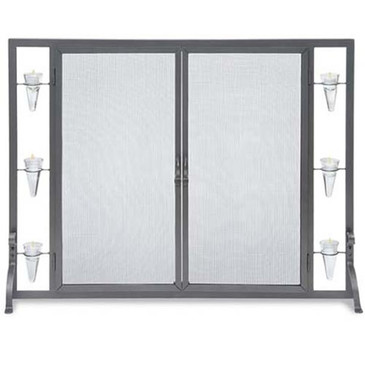 Pilgrim Flat Tea Light Screen with Full Height Doors